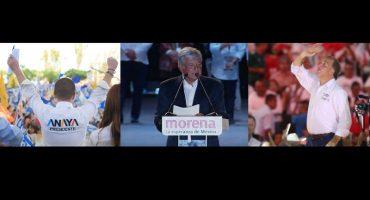 Elecciones 2018, día 90: cierre de campaña de Meade, Anaya,