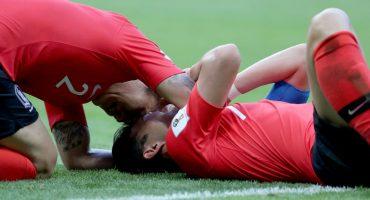 La hora sad: Jugadores coreanos creyeron que habían pasado a Octavos de final