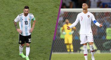 30 de junio: El día que Cristiano Ronaldo y Lionel Messi fueron eliminados de Rusia 2018