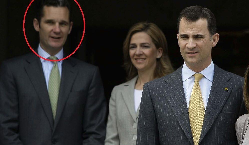 Urdangarin, infanta Cristina y rey Felipe VI