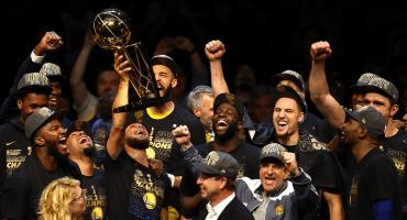 Golden State barre a los Cavaliers para coronarse otra vez en la NBA: Kevin Durant, el MVP