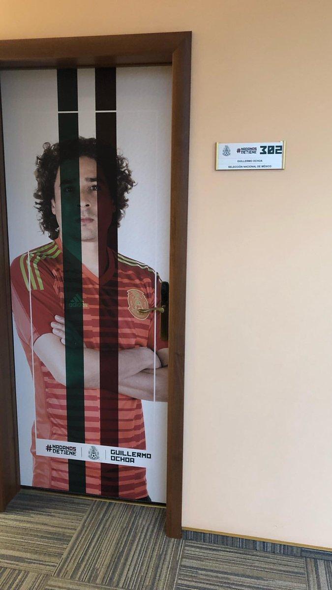 La Selección Mexicana presume habitaciones personalizadas