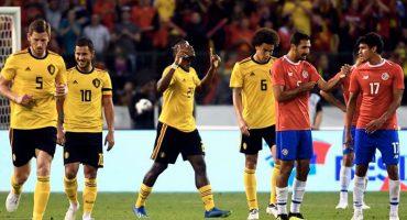 ¡Diabólicos! Bélgica golea 4-1 a Costa Rica y está lista para Rusia 2018