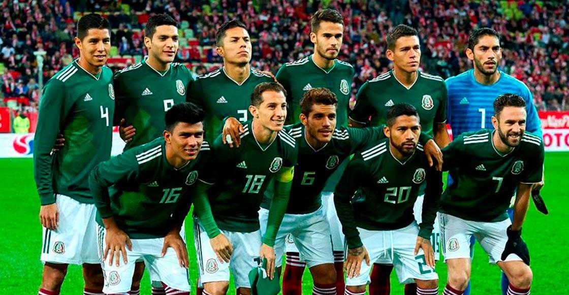 2bcd8a4f53108 Así será el uniforme que vestirá México para cada partido del Mundial