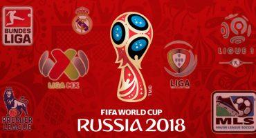 ¿Quién da más? 5 datos sobre la procedencia de los seleccionados y clubes hacia Rusia 2018
