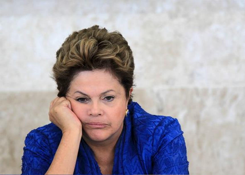 Presidenta destituida de Brasil