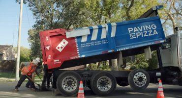 Domino´s Pizza pavimenta carreteras de Estados Unidos