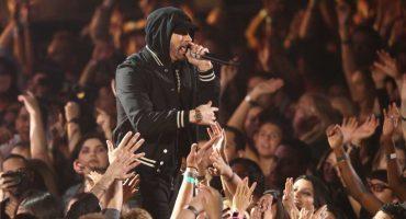 Tsssss, Eminem responde a las críticas por usar sonidos de balas en su show