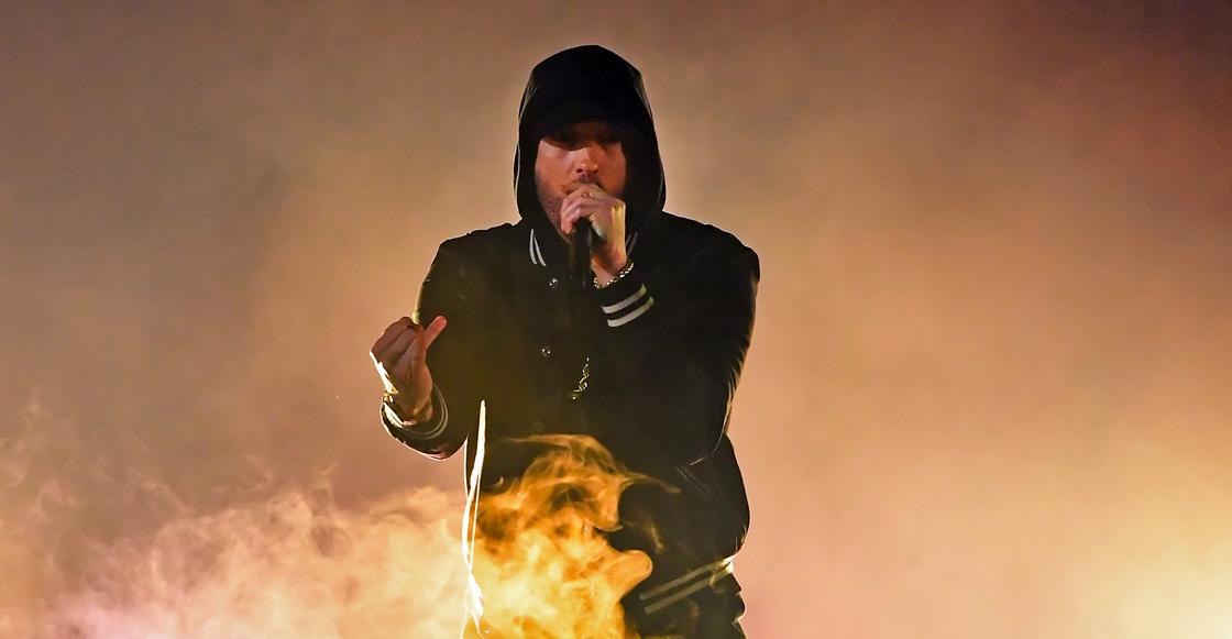 Pánico en vivo: Eminem suelta sonidos de disparos en su show