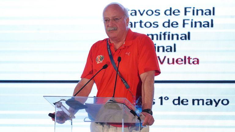 Enrique Bonilla anunció el VAR para Apertura 2018