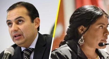 PAN expulsa a Ernesto Cordero y a Eufrosina Cruz por apoyar a José Antonio Meade