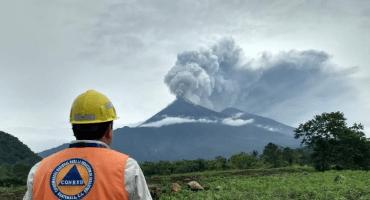 Luto y estado de Calamidad: los estragos de la erupción del Volcán de Fuego