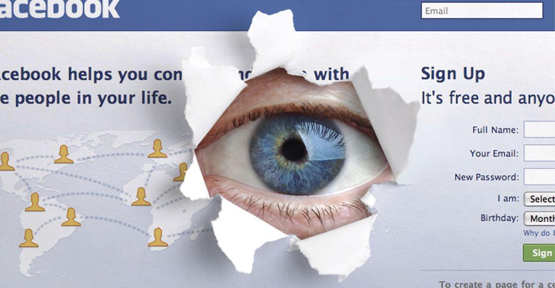 Facebook stalkea a sus usuarios