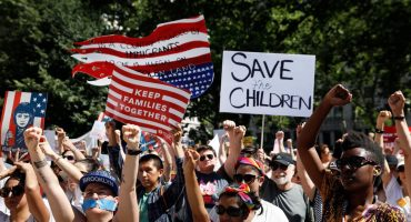 #FamiliesBelongTogether: Miles salen a marchar en Estados Unidos en contra de las políticas de Donald Trump