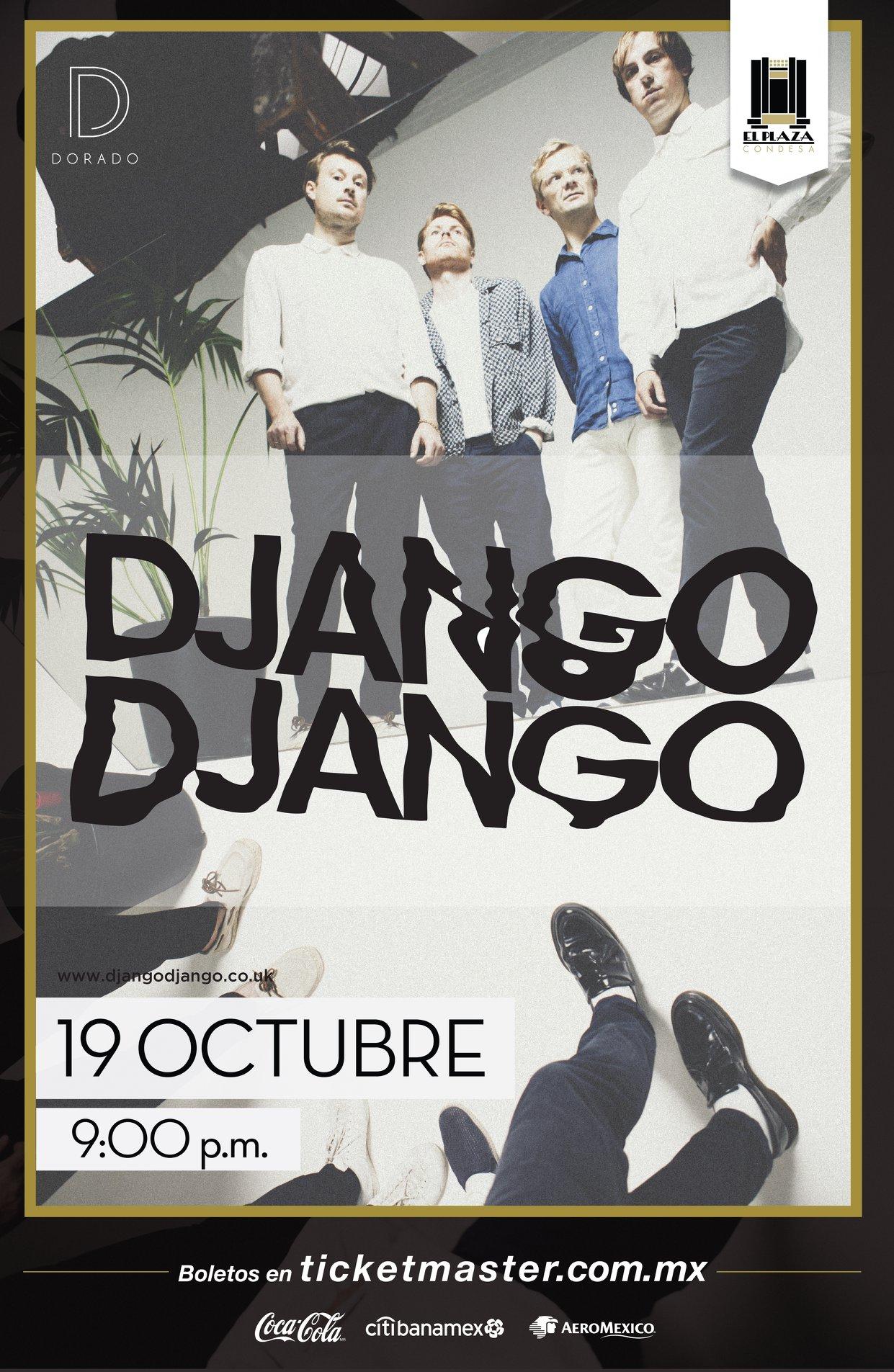 ¡Django Django viene por primera vez a México para un show en El Plaza!