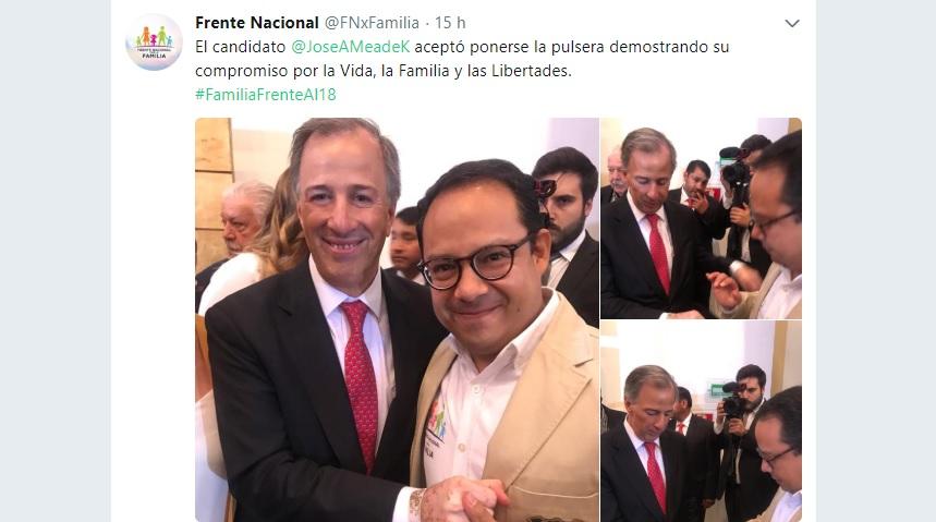 José Antonio Meade y Frente Nacional por la Familia