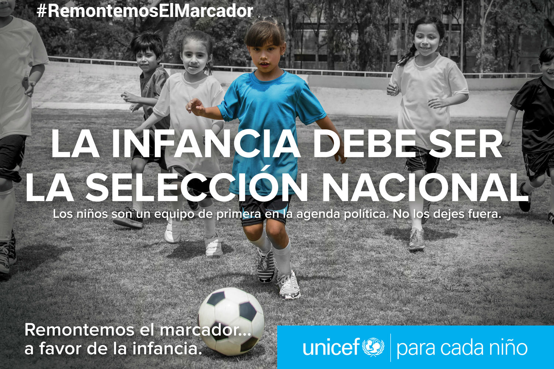 La infancia debe ser la selección nacional