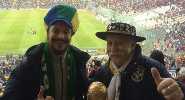 Los hijos del 'Gaucho da Copa' conmemoran la memoria de su padre en Rusia 2018