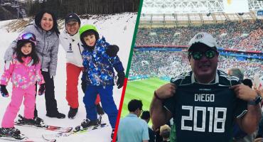 El conmovedor homenaje de un mexicano en Rusia que perdió a toda su familia