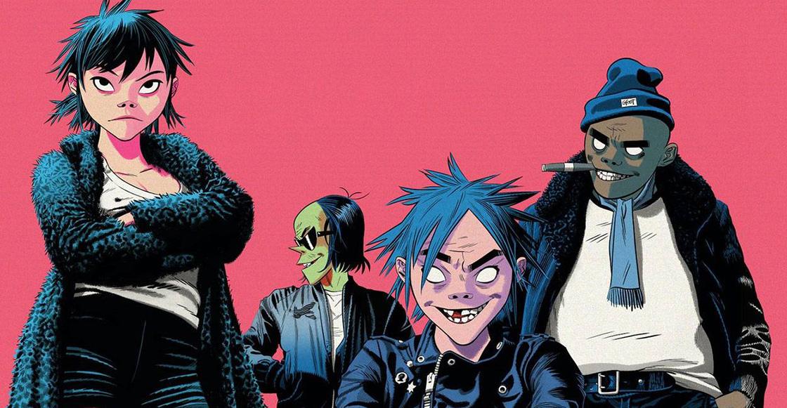 Gorillaz estrenó 4 nuevas canciones de 'The Now Now' durante un concierto