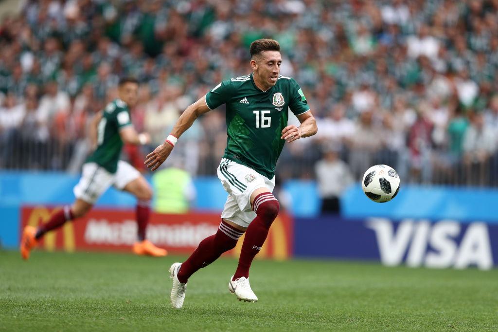 Héctor Herrera dio un partidazo contra Alemania