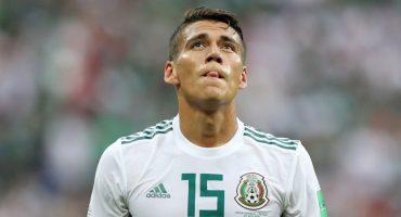 Héctor Moreno no podrá jugar los Octavos por doble amarilla