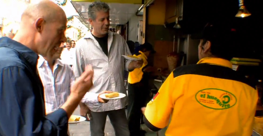 Anthony Bourdain en México