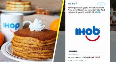 Khé?: IHOP cambia de nombre y ahora todo tiene sentido