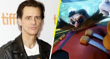 ¡¿Qué?! Jim Carrey será el Dr. Eggman en la película de 'Sonic The Hedgehog'