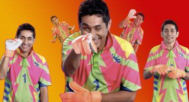 Jorge Campos es la nueva cara de la campaña de verano en Walmart y acá te van 7 gifs para usar en toda ocasión  藍