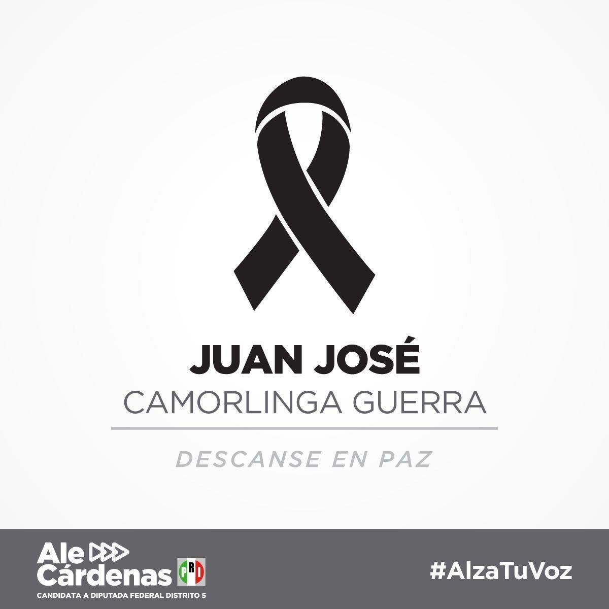 Mensaje de diputada del PRI, luego de asesinato de Juan José Camorlinga