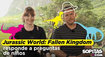Niños de Kínder preguntan de dinosaurios al elenco de Jurassic World: Fallen Kingdom