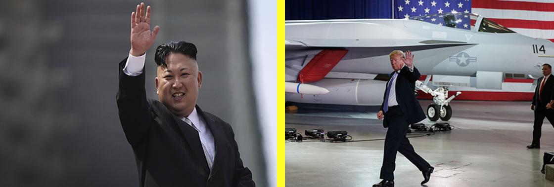 Reunión entre Kim Jung y Donald Trump