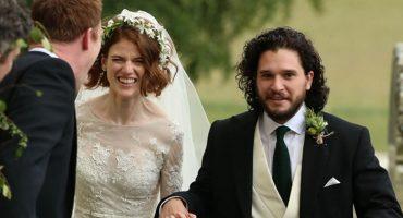 ¡Hay boda en Westeros! Así estuvo la boda de Kit Harington y Rose Leslie