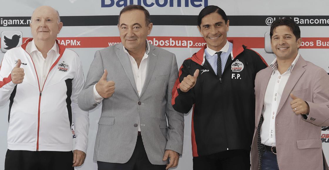 Francisco Palencia Nuevo DT Lobos bUAP