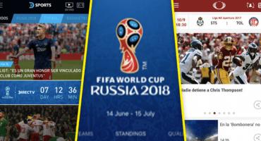 23 apps recomendables para que no te pierdas nadita de Rusia 2018
