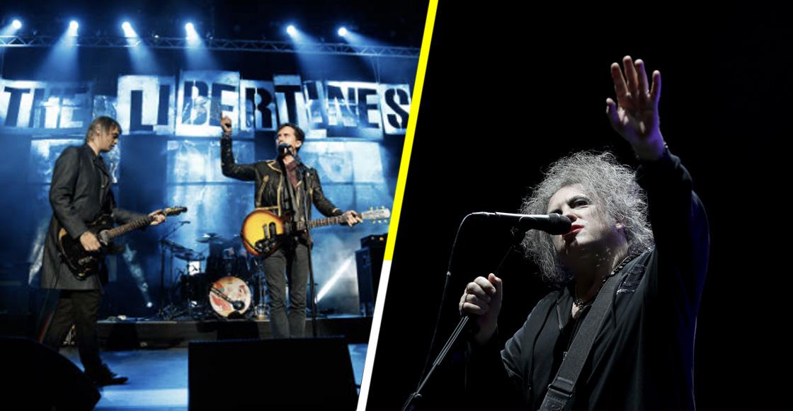 The Libertines coverea 'Boy's Don't Cry' de The Cure durante el Meltdown