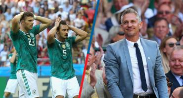 ¡Tssss! Lineker modifica su frase célebre tras la eliminación de Alemania
