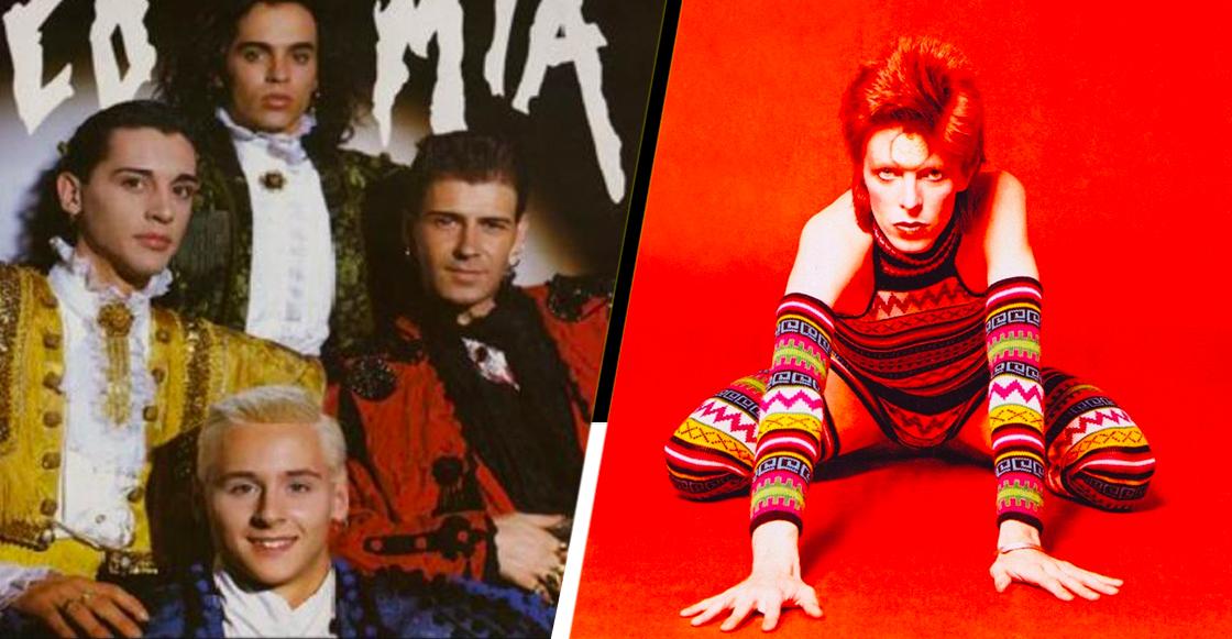 Khé?! Locomía fue banda telonera de David Bowie