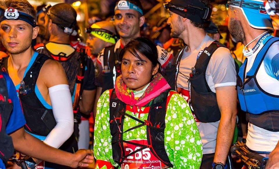 Lorena Ramírez, corredora rarámuri