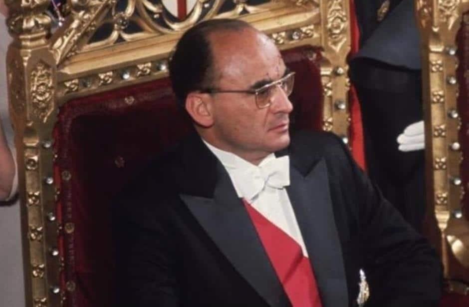 El expresidente Luis Echeverría