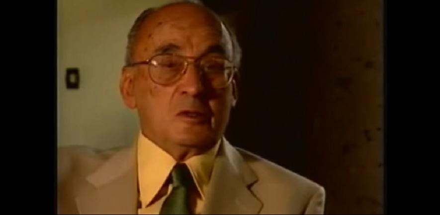 Elexpresidente Luis Echeverría