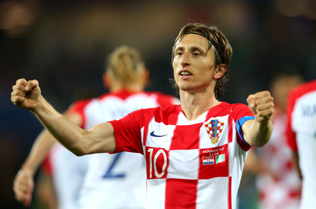 Luka Modric mediocampista croata