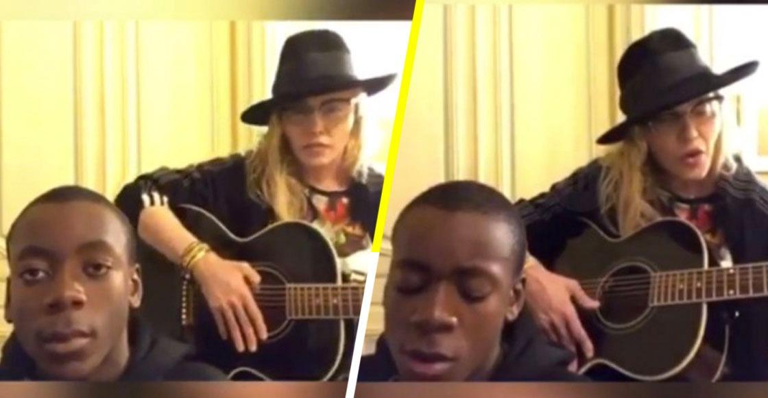 Mira a Madonna coverear junto a su hijo 'Can't Help Falling In Love' de Elvis Presley