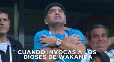 ¡El Maradona festejó COMO NUNCA el gol de Messi y ya llegaron los memes!