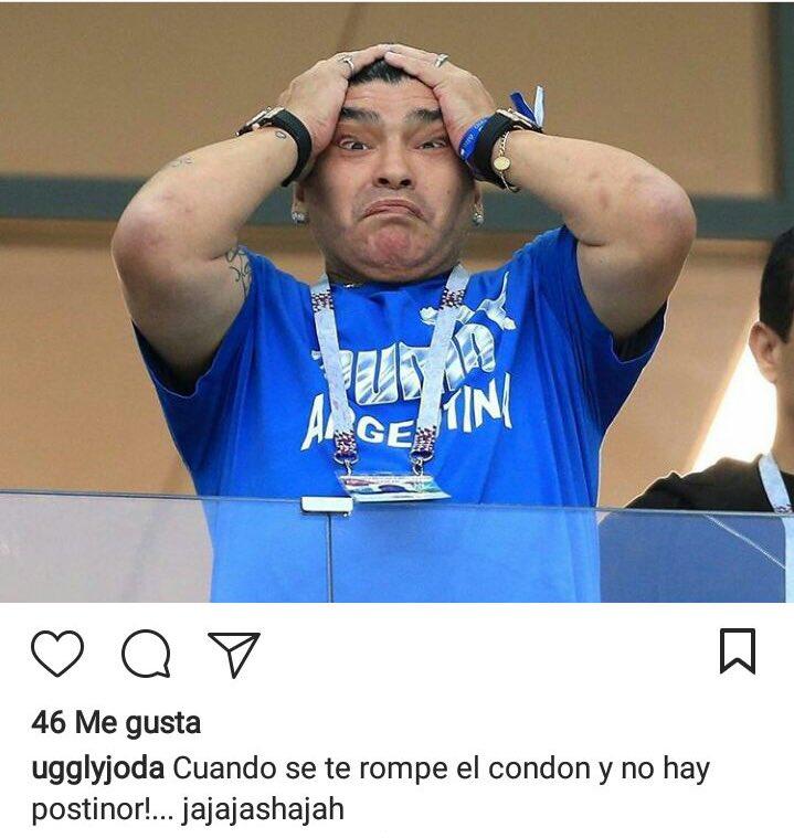 Pobre Maradonna...
