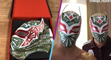 Sin Cara se acordó de la Selección Mexicana y mandó unos regalitos