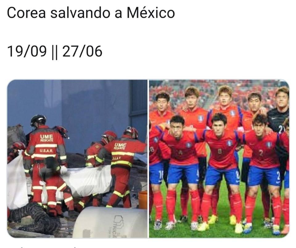 Corea del sur le gana a Alemania y le hace el paro a México