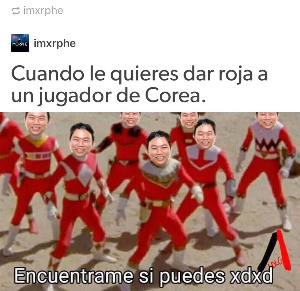 Llegaron los memes del partido entre México y Corea del Sur. ¡A reír!