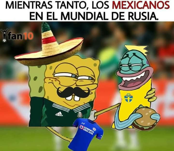 Llegaron los memes del México vs Suecia